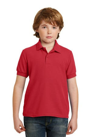 Gildan® Youth DryBlend® 6.3-Ounce Double Pique Sport Shirt. 72800B
