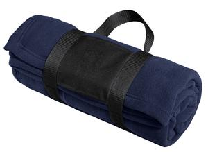 Port Authority® Fleece Blanket with Carrying Strap. BP20