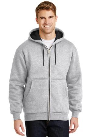 CornerStone® - Heavyweight Full-Zip Hooded Sweatshirt with Thermal Lining. CS620