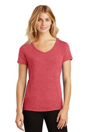 District Made® Ladies Perfect Tri™ V-Neck Tee. DM1350L