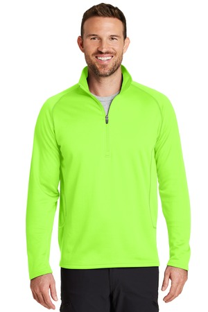 NEW Eddie Bauer® 1/2-Zip Base Layer Fleece. EB236