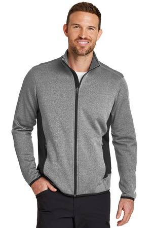 NEW Eddie Bauer® Full-Zip Heather Stretch Fleece Jacket. EB238