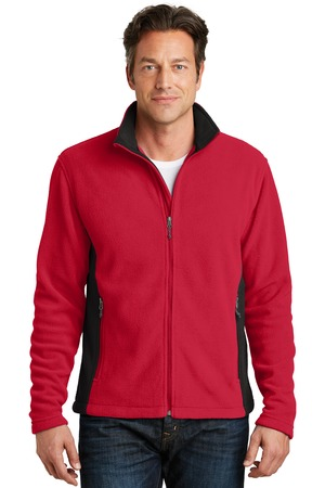 NEW Port Authority® Colorblock Value Fleece Jacket. F216