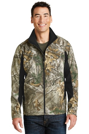 NEW Port Authority® Camouflage Colorblock Soft Shell. J318C