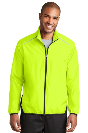 NEW Port Authority® Zephyr Reflective Hit Full-Zip Jacket. J345
