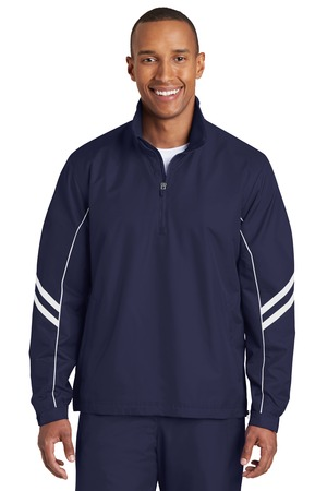Sport-Tek® Shield Ripstop 1/2-Zip Pullover. JST84
