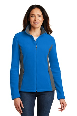 NEW Port Authority® Ladies Colorblock Value Fleece Jacket. L216