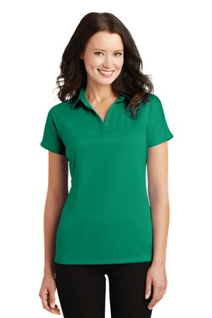 Port Authority® Ladies Crossover Raglan Polo. L575