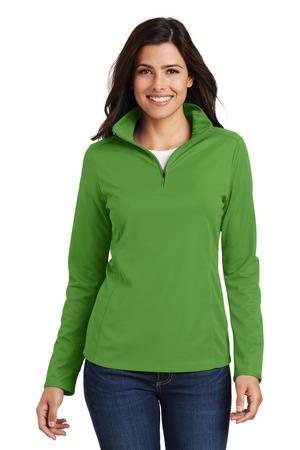 Port Authority® Ladies Pinpoint Mesh 1/2-Zip . L806