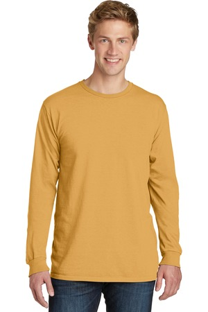 NEW Port & Company® Pigment-Dyed Long Sleeve Tee. PC099LS
