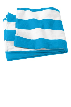 Port & Company® Cabana Stripe Beach Towel. PT43