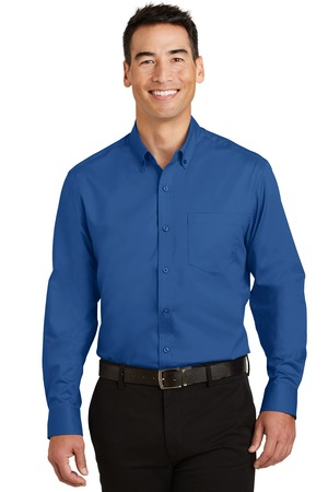 NEW Port Authority® SuperPro™ Twill Shirt. S663