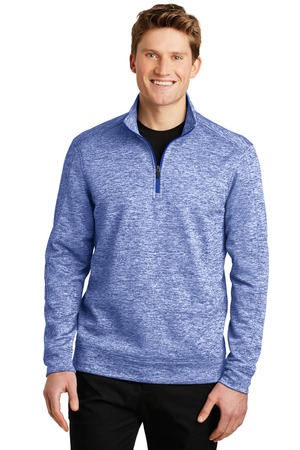 NEW Sport-Tek® PosiCharge® Electric Heather Fleece 1/4-Zip Pullover. ST226