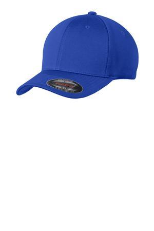 Sport-Tek® Flexfit® Cool & Dry Poly Block Mesh Cap. STC22