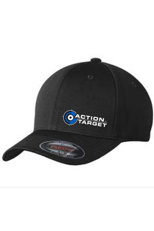 Action Target - Sport-Tek® Flexfit® Cool & Dry Poly Block Mesh Cap. STC22 BLACK