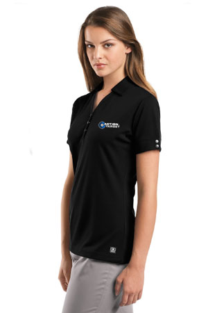 Action Target - Women's OGIO® - Glam Polo. LOG105 BLACK