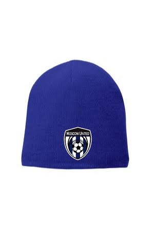 Moscow United Soccer Fleece-Lined Beanie Cap - CP91L