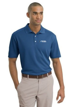 Action Target - Men's Nike Golf - Dri-FIT Classic Polo. 267020 FRENCH BLUE