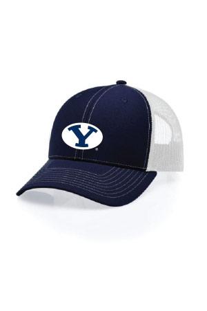 BYU Alumni Oval Y Snapback Hat