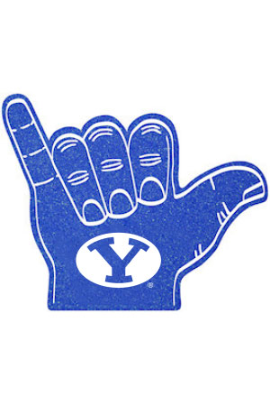BYU Alumni Foam Finger
