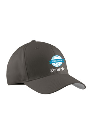 GENERIC HAT LOGO CENTER GREY