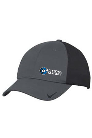 Action Target - Nike Golf Dri-FIT Swoosh Flex Colorblock Cap. 632422 DARK GREY/BLACK