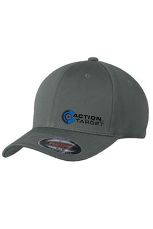 Action Target - Sport-Tek® Flexfit® Cool & Dry Poly Block Mesh Cap. STC22 MAGNET GRAY