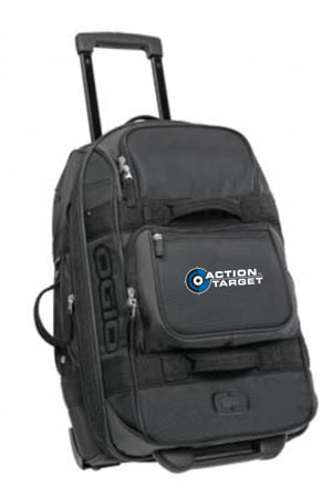 Action Target - OGIO® - Pull-Through Travel Bag. 611024 BLACK