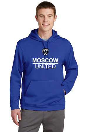 Moscow United Soccer Adult Fleece Hood Sweatshirt - 5505